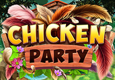 Chicken Party Slots  (Booming Games)