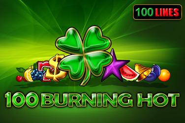 100 Burning Hot főnyeremény  (EGT)