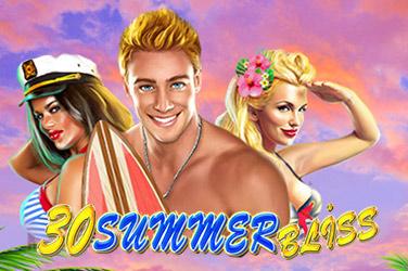 30 Summer Bliss Slots