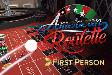 First Person American Roulette asztal  (Evolution Gaming)