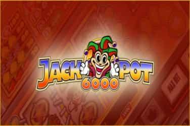 Jackpot 6000 Slots Mobile (NetEnt)