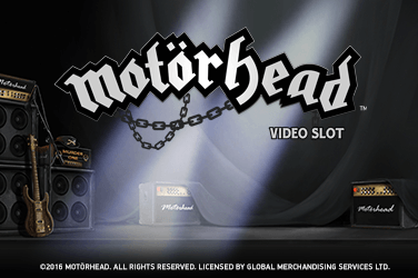 Motorhead Slots  (NetEnt)