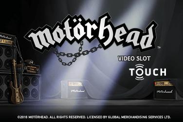 Motorhead Touch Slots Mobile (NetEnt)