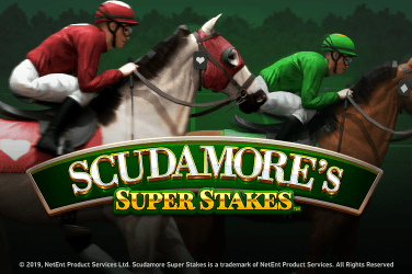 Scudamore's Super Stakes Slots  (NetEnt)