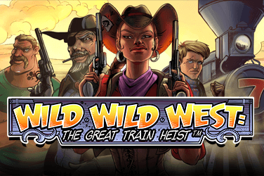 Wild Wild West: The Great Train Heist Slots  (NetEnt)