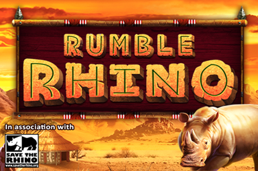 Rumble Rhino Slots  (Pariplay)