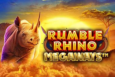 Rumble Rhino Megaways Slots  (Pariplay)