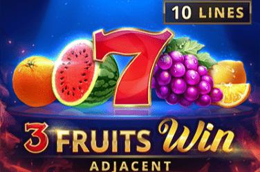 3 fruits win 10 lines Slots