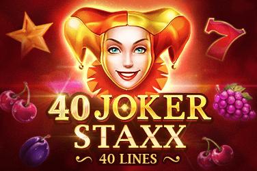 40 Joker Staxx Slots  (Playson)