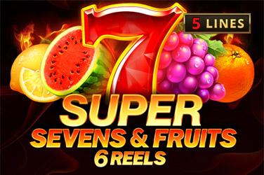 5 Super Sevens & Fruits: 6 reels Slots  (Playson)