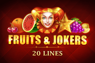 Fruits & Jokers: 20 lines Slots  (Playson)