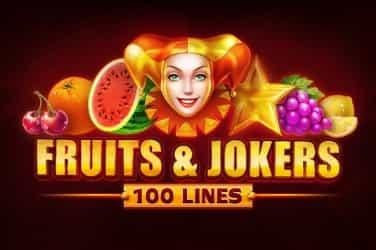 Fruits & Jokes 100 lines Slots  (Playson)