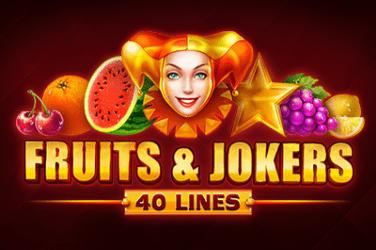 Fruits&Jokers: 40 lines Slots  (Playson)