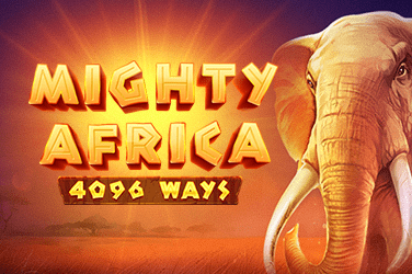 Mighty Africa: 4096 ways Slots  (Playson)