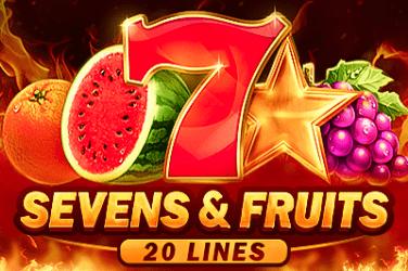 Sevens&Fruits: 20 lines Slots  (Playson)