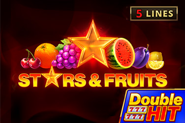 Stars & Fruits: Double Hit Slots  (Playson)