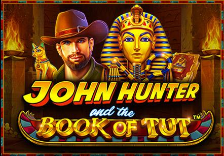 John Hunter and the Book of Tut Slots  (Pragmatic Play)