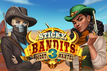 Sticky Bandits 3 Most Wanted Slots  (Quickspin)
