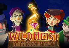 Wild Heist at Peacock Manor Slots  (Thunderkick)