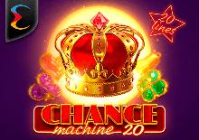 Chance Machine 20 Machines à sous  (Endorphina)