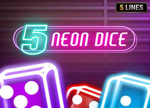 5 Neon Dice Arkada  (Fazi)