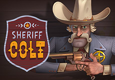 Sheriff Colt Slots  (Peter&Sons)