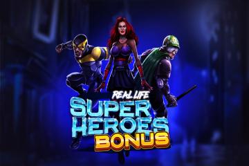 Real Life Super Heroes Bonus Slots  (Spinmatic)