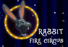 Rabbit Fire Circus Slots  (BetConstruct) PLAY IN DEMO MODE OR FOR REAL MONEY