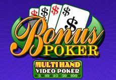 Multihand Bonus Poker Póker  (Betsoft Gaming)