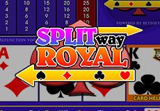 Split Way Royal Poker  (Betsoft Gaming)