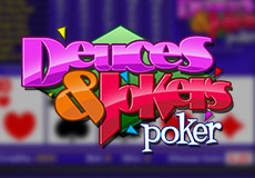 Deuces And Jokers Poker  (Betsoft Gaming)