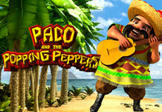 Paco and the Popping Peppers Slots  (Betsoft Gaming)