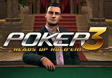 Poker3 Heads Up Hold'em Poker (Betsoft Gaming)