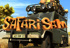 Safari Sam Slots  (Betsoft Gaming)