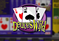 Deuces Wild Poker  (Betsoft Gaming)