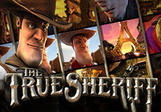 The True Sheriff slots  (Betsoft Gaming)
