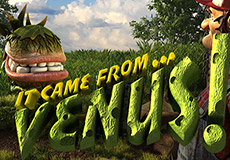 It Came From Venus JP Plus Pula  (Betsoft Gaming)