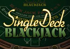 Single Deck Blackjack Table (Betsoft Gaming)