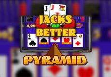 Pyramid Jacks Or Better Poker  (Betsoft Gaming)