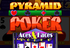 Pyramid Aces And Faces Poker  (Betsoft Gaming)