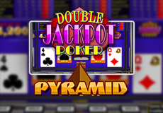 Pyramid Double Jackpot Poker (Betsoft Gaming)