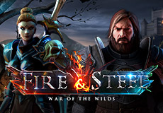 Fire & Steel Machines à sous  (Betsoft Gaming)