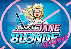Agent Jane Blonde Returns Slots  (Microgaming)