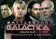 Battlestar Galactica Slots  (Microgaming)