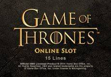 Game of Thrones 15 Lines Slots  (Microgaming) GET €/$ 100 CASINO BONUS