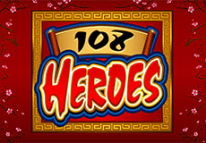 108 Heroes Slots  (Microgaming) PLAY IN DEMO MODE OR FOR REAL MONEY