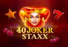 40 Joker Staxx Slot  (Microgaming) PLAY IN DEMO MODE OR FOR REAL MONEY