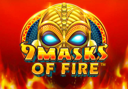 9 Masks Of Fire Slots  (Microgaming)