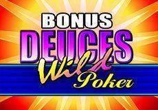 Bonus Deuces Wild Video Poker  (Microgaming)