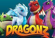 Dragonz Slots  (Microgaming) PLAY IN DEMO MODE OR FOR REAL MONEY